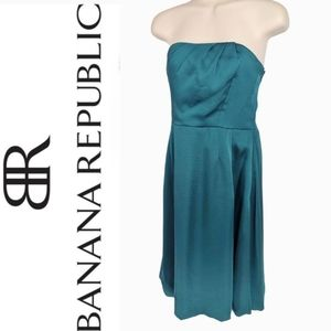 BANANA REPUBLIC Strapless Cocktail Dress Sz 12